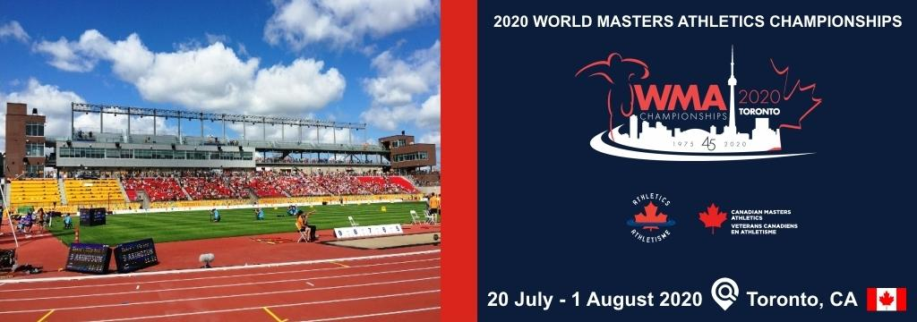 2020 World Masters Athletics Championships, Masters Athletics Canada, Canada Masters